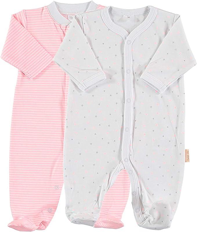Petit Oh! - Pack de 2 Pijamas de Manga Larga para bebé 100 ...