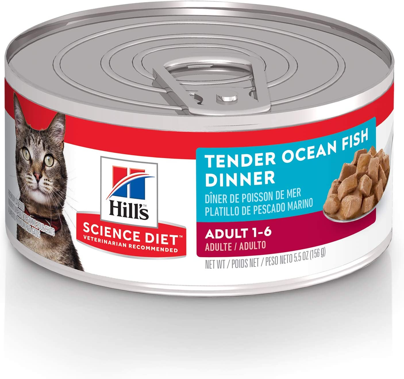 Hill's Science Diet Canned Wet Cat Food, Adult, Tender Chunks & Gravy Recipes