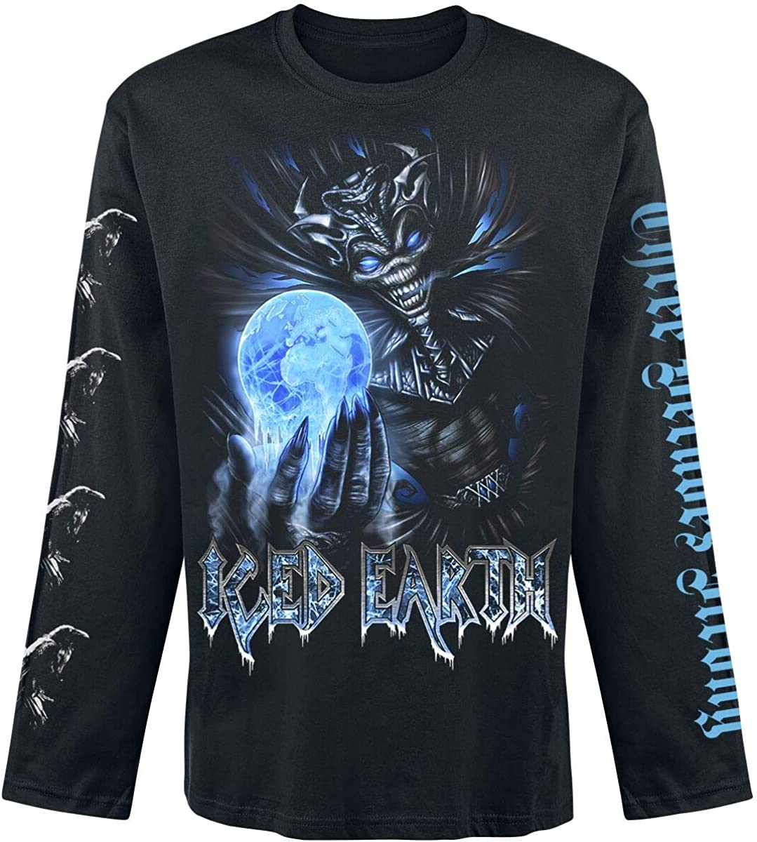 Iced Earth /'30th Anniversary/' Zip Up Hoodie NEW /& OFFICIAL