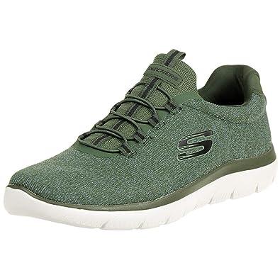 65f20e0051 Skechers Summits FORTON Men´s Trainers Sneaker Fitness Memory Foam Green,  Shoe Size: