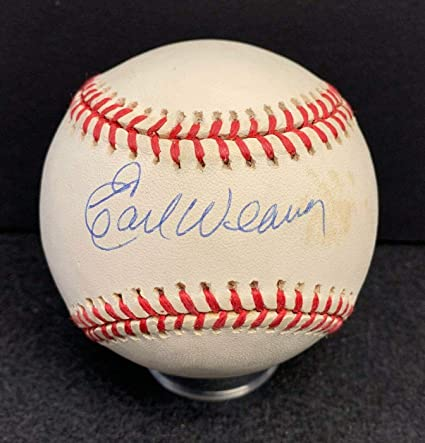 c30197bc537 Image Unavailable. Image not available for. Color  Autographed Earl Weaver  Ball - Official American League Cert - JSA Certified - Autographed Baseballs