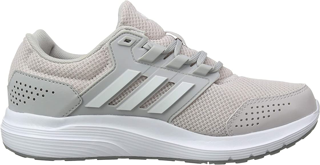 adidas Galaxy 4, Zapatillas de Running para Mujer, Gris (Grey/Footwear White/Ice Purple 0), 45 1/3 EU: Amazon.es: Zapatos y complementos