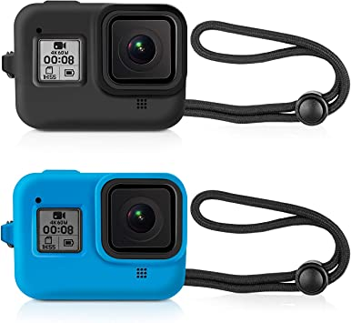 Protective Soft Frame Silicone Sleeve Case for GoPro Hero 8 Black