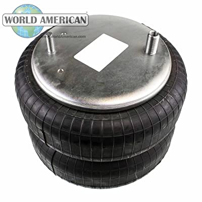 World American WA01-7555C Air Spring (CONVOLUTED STYLE): Automotive