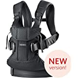 BABYBJÖRN Baby Carrier One Air, 3D Mesh, Black, 2018 Edition