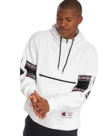 Champion - Sweatshirt Noir 212177 à Capuche de Marque pour Homme   Amazon.fr  Vêtements et accessoires eeb53ab9bf33