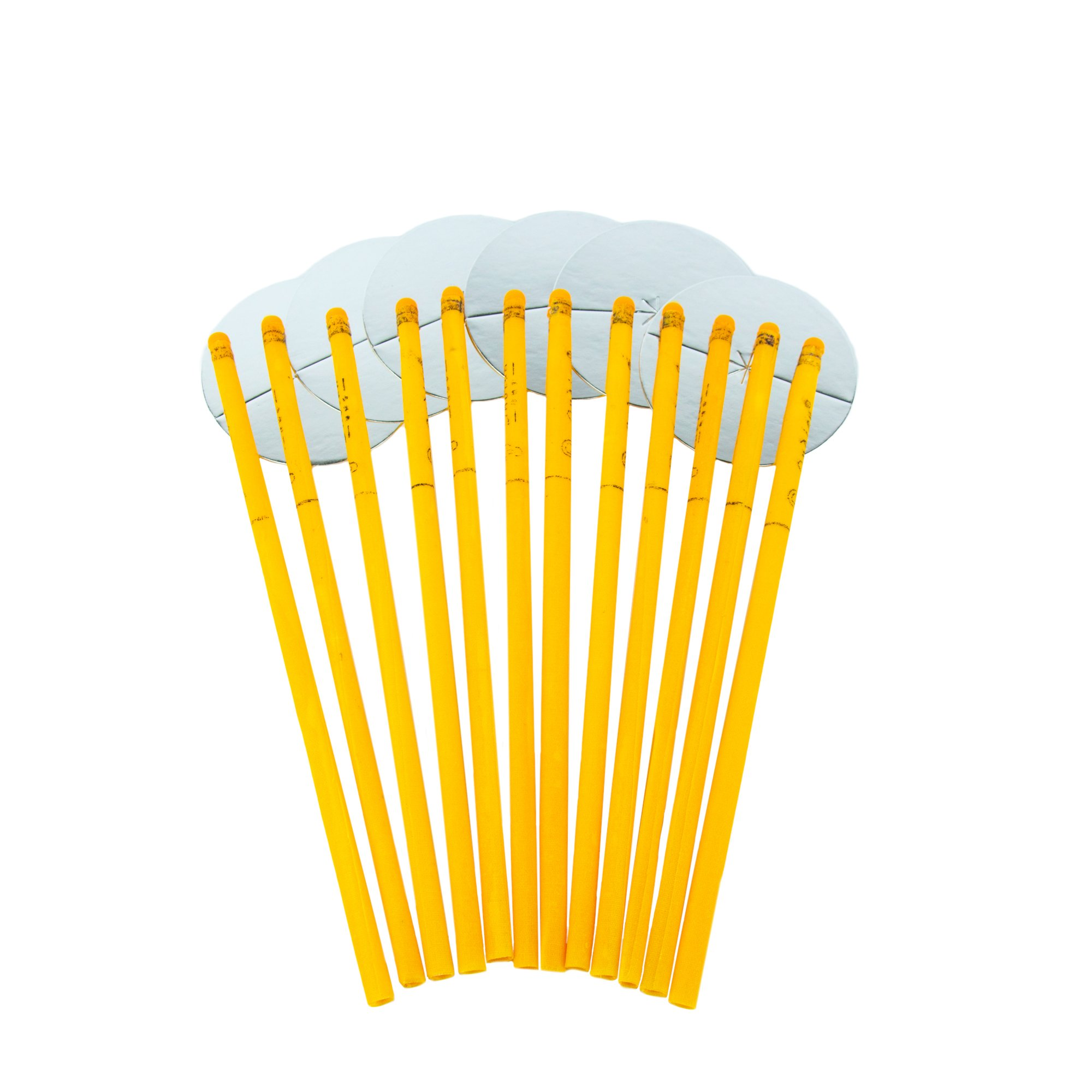 Beeswax Ear Candles 12PCS- 100% All-Natural Beeswax Candling Cones with Natural Honey Scent 6 Protective Disk Included
