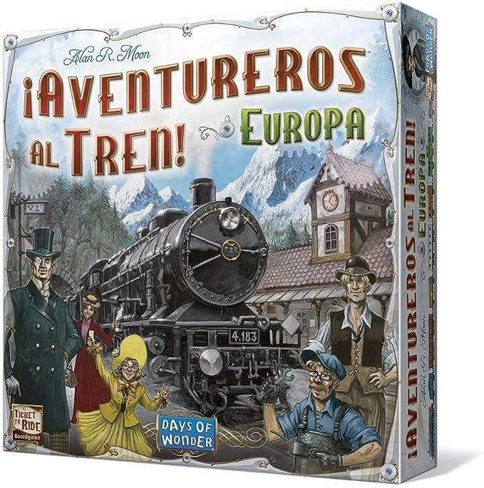 Days of Wonder - Aventureros al Tren, juego de mesa (LFCABI127 ...
