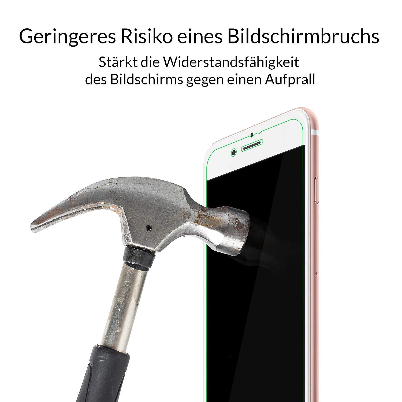 Likano 3mk Hardglass für iPhone 7. Panzerglas: Amazon.de: Elektronik
