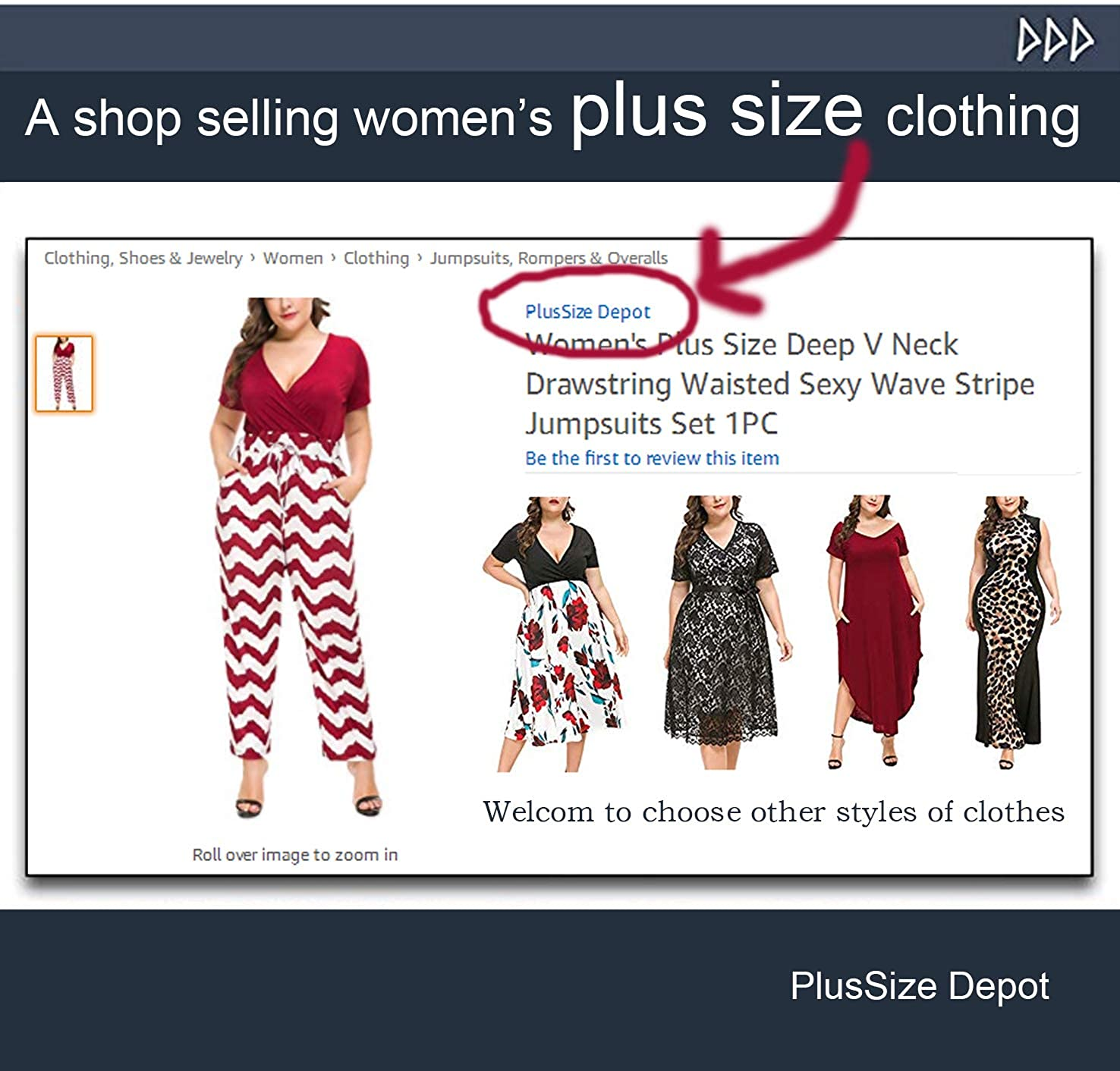 632646aa174 Amazon.com  PlusSize Depot Women s Plus Size Casual Leopard Print Maxi  Dress Sleeveless Long Dresses 1xl-5xl  Clothing