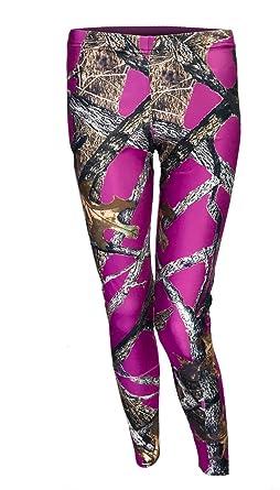 bda628bc9e Amazon.com  Southern Designs Purple Camo Leggings Camouflage and ...