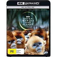 Seven Worlds, One Planet [3 Disc] (4K Ultra HD + Blu-ray)