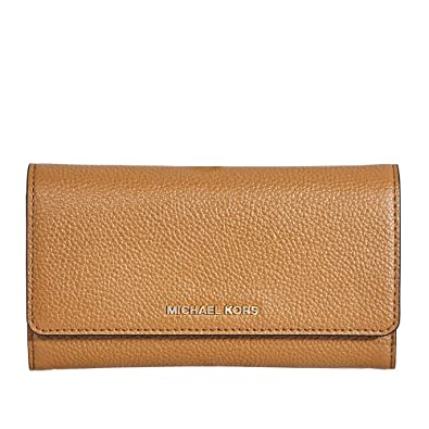 8b243c8461d2a7 Amazon.com: Michael Kors Mercer Leather Wallet- Acorn: Clothing