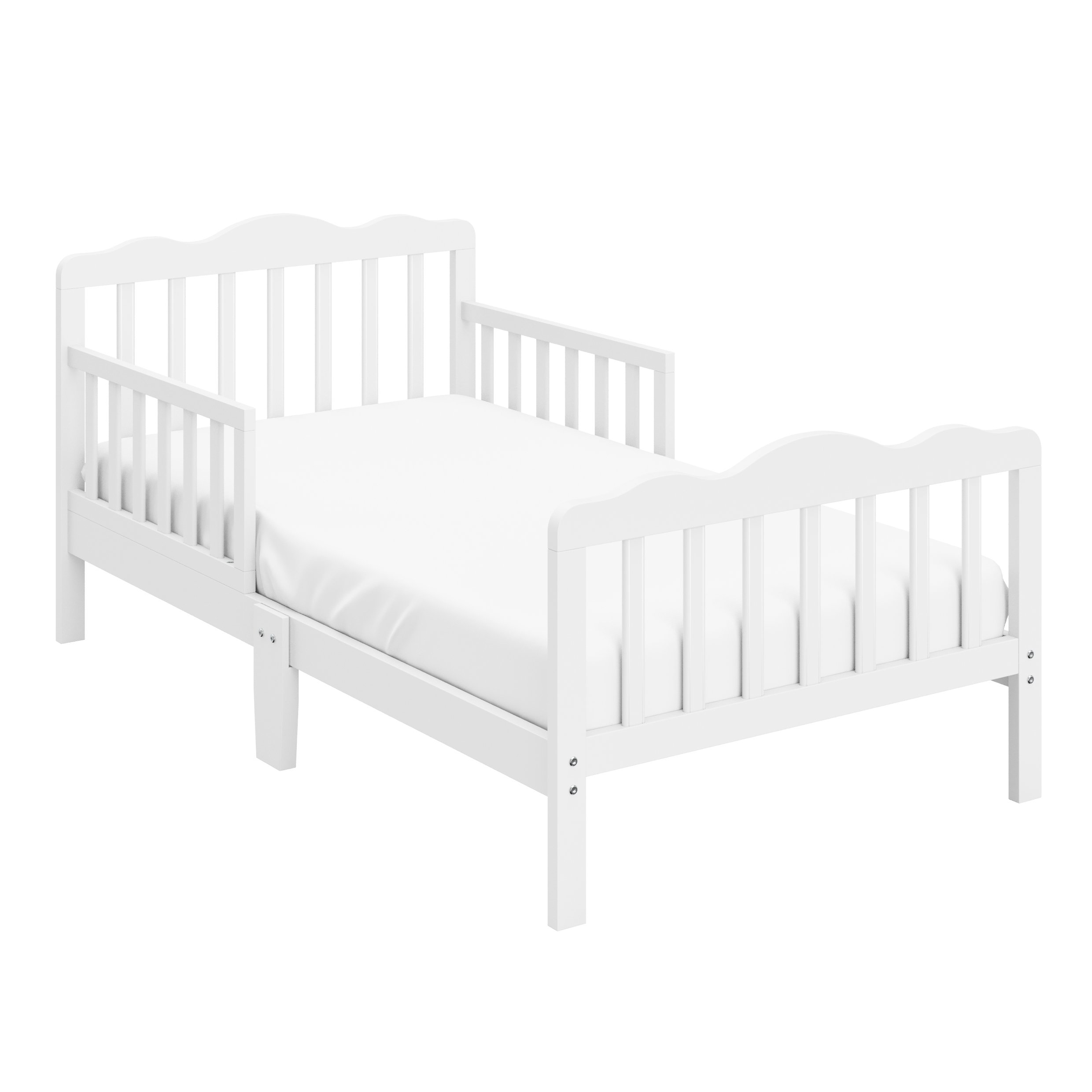 Storkcraft Hillside Toddler Bed, White
