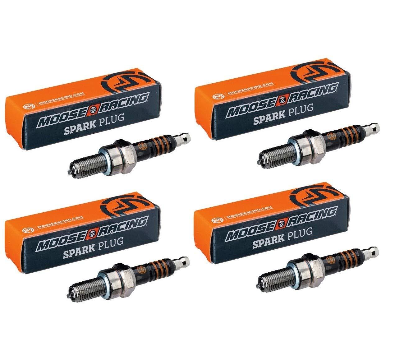 /0269 Kawasaki z750-z800-z1000-zxr7-zx9r-400/zxr-1100/ /1200/zrx-1100/gpz-lot 4/candele cr9ek-2103/