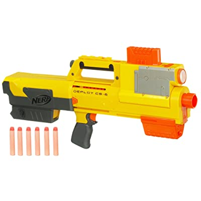 Nerf N-Strike Deploy CS-6 Dart Blaster (Discontinued by manufacturer): Toys & Games