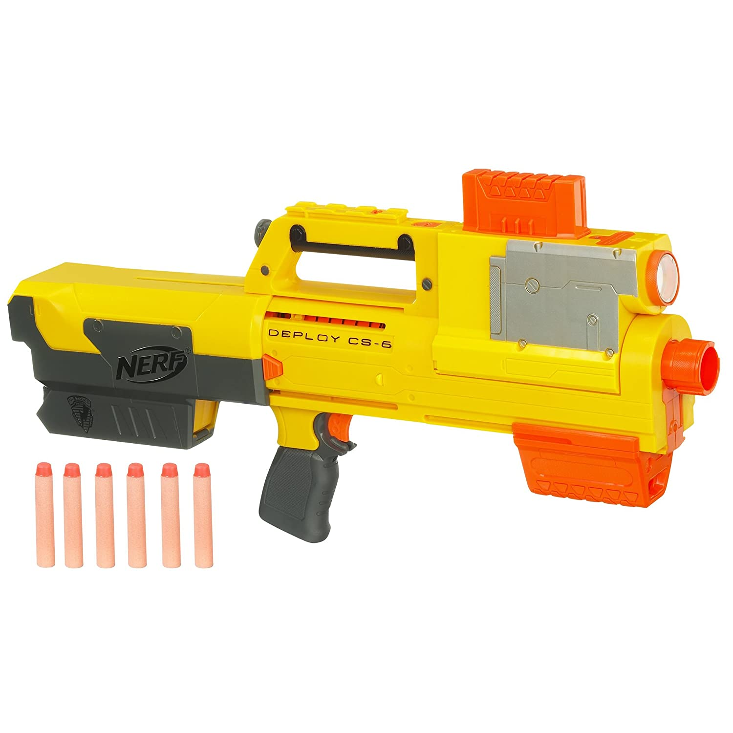 Amazon.com: Nerf N-Strike Deploy CS-6 Dart Blaster (Discontinued by  manufacturer): Toys & Games