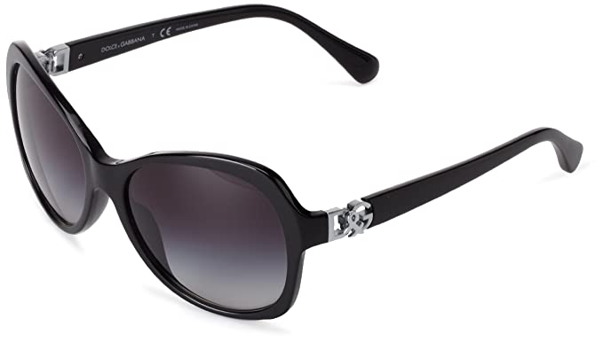 87b02b14ea8 Image Unavailable. Image not available for. Colour  D G Dolce   Gabbana  Rectangular Sunglasses ...