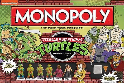 Amazon.com: Juego Monopoly de Las tortugas ninjas ...