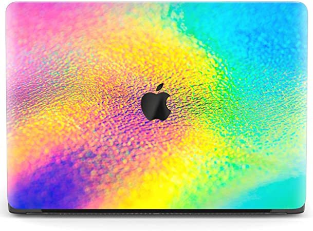 Bright Blue Marble Texture Covers MacBook Pro 16 Air 11 Pro 13 Touch Bar Abstract Plastic Gold Cases MacBook 12 Pro 15 Retina 2018 Air 13