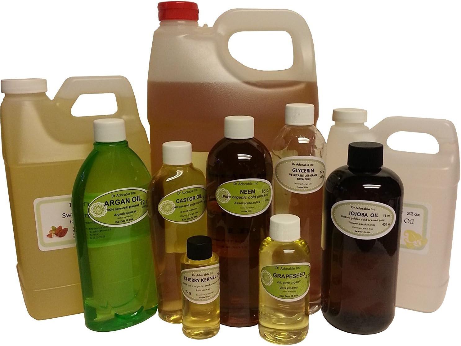 Orgánica Aceite de orujo de oliva prensado en frío puro 2oz
