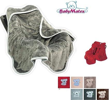 BabyMatex ** Topes de goma para muebles/de mujer en el agua ** Forrado con suave tela de saco de dormir infantil se puede calentar en el con mangas para ...