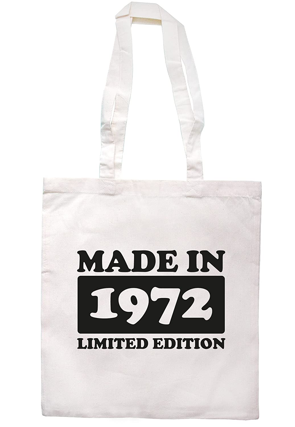 illustratedidentity Made In 1972 Limited Edition Tote Bag 37.5cm x 42cm with long handles