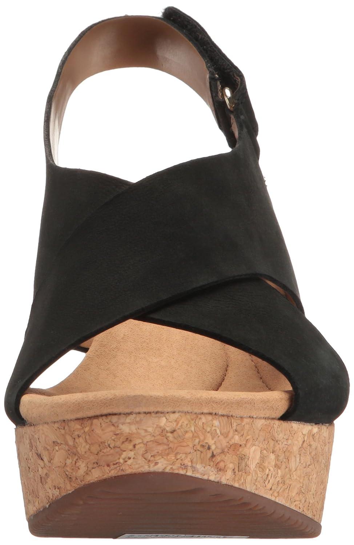 1f23eab1b81 Amazon.com | Clarks Women's Annadel Eirwyn Wedge Sandal | Platforms & Wedges