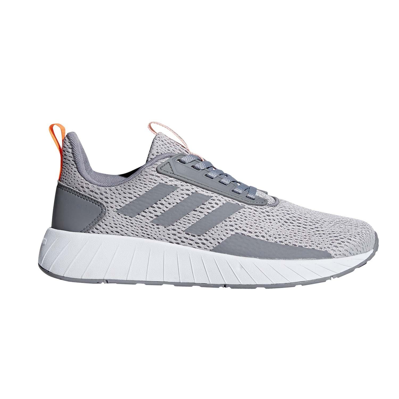 adidas Women's Questar Drive W, Grey Two/Grey Three/Hi-Res Orange, 7 M US