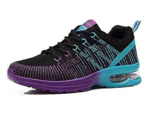 the best attitude de4de d4676 Zapatos de Running para Hombre Mujer Zapatillas Deportivo Outdoor Calzado  Asfalto Sneakers Negro Rojo Gris 35-44 ...  Amazon.es  Zapatos y  complementos