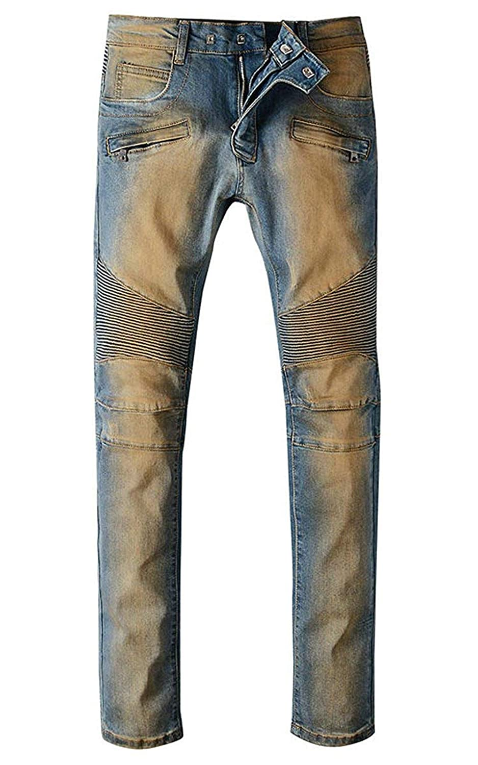 sadness n Mens Wear Relaxed Straight-Fit Jean
