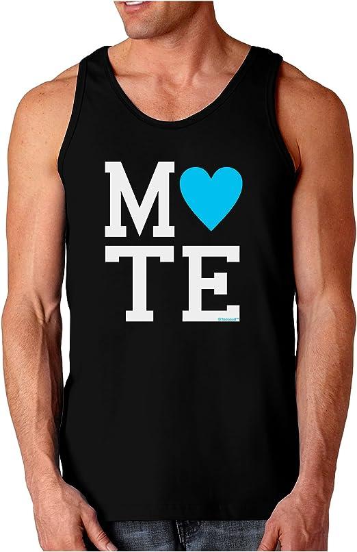 Blue Dark Muscle Shirt TooLoud Matching Soulmate Design Soul