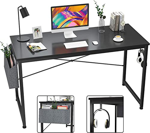ZONLESON Computer Desk 47 inch Home Office Writing Study Desk