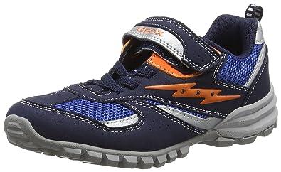 Geox J Xitizen C, Jungen Sneakers, Schwarz (Black), 30 EU