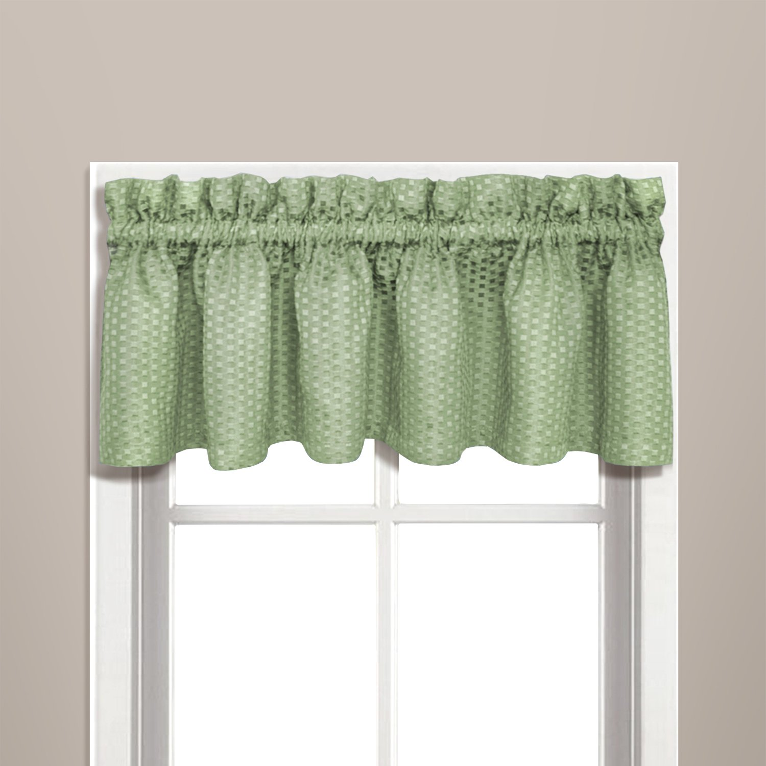 check green hunter yhst window valance gingham valances