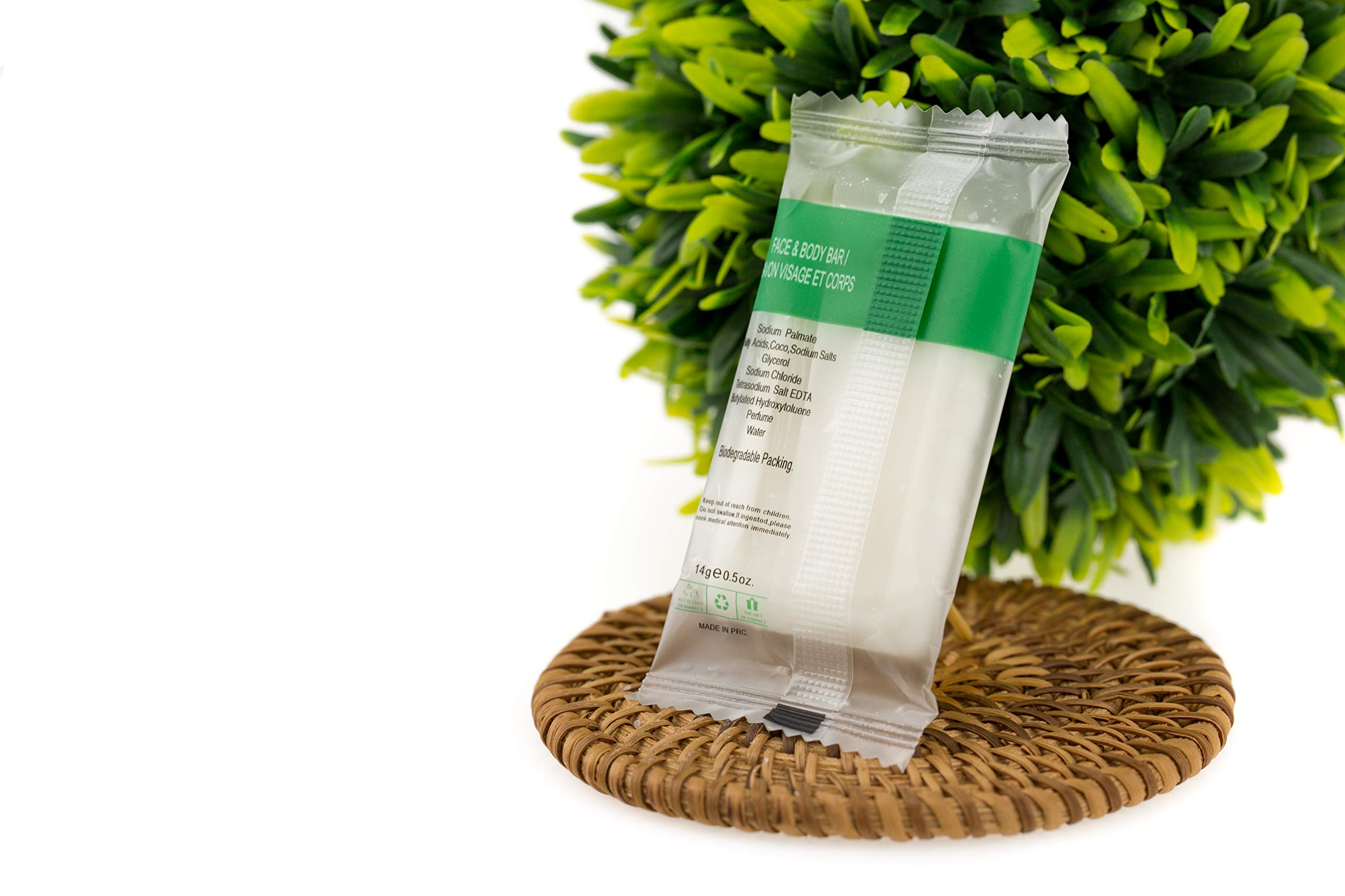ECO AMENITIES Travel Size Soap - wrapper back
