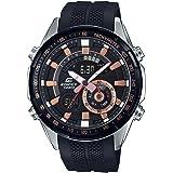 Casio Edifice Analog-Digital Black Dial Men's Watch - ERA-600PB-1AVUDF (EX421)