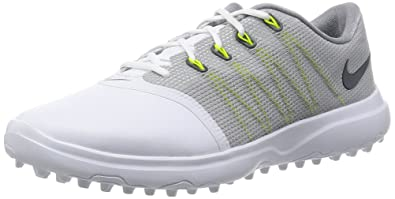 online store e825d 49281 Image Unavailable. Image not available for. Color  Nike Lunar Empress 2  Women s Golf Shoes (White Anthracite Cool Grey ...