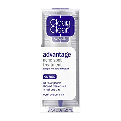 Amazon Com Clean Clear Advantage Acne Spot Treatment Oil Free