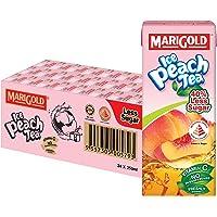 MARIGOLD Iced Peach Tea Less Sweet, 24 x 250ml