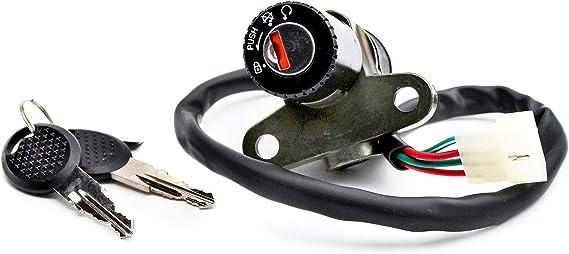 Zündschloss Für Rieju Motorhispania U A Schaltmopeds 125ccm Mrx Smx Tango Und Marathon Auto