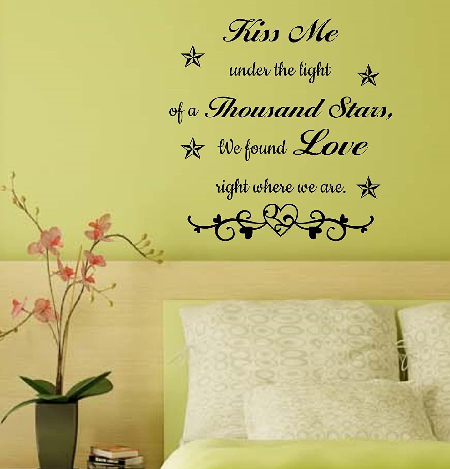 Amazon.com: Music Love Song Lyric Quote Saying Wall Design Poster ...