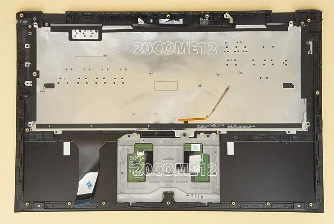 Amazon.com: FidgetFidget for Sony SVP13215CLB SVP13225CLB Keyboard Spanish Teclado Palmrest Backlit Black: Electronics