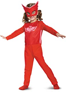 Disguise Owlette Costume PJ Masks Dress up for Kids Toddler 3T-4T