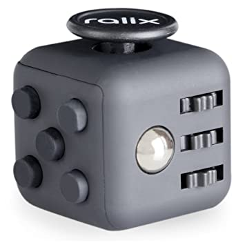Anxiety Stress Relief Fidget Cube Calming Toy For Focus Relaxation Distraction Improved