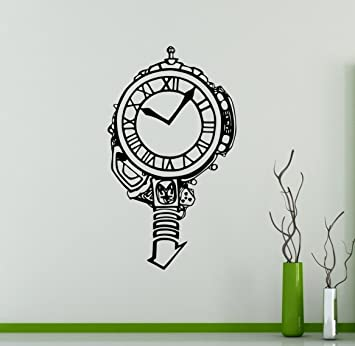 Back to the Future Clock Wall Decal Film Wall Vinyl Sticker Legendary Movie Home Interior Removable  sc 1 st  Amazon.com & Back to the Future Clock Wall Decal Film Wall Vinyl Sticker ...