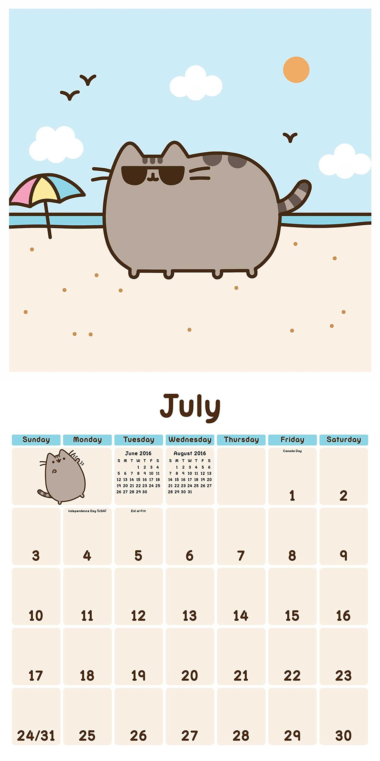 Pusheen the Cat 2016 Wall: Amazon.es: Claire Belton: Libros ...