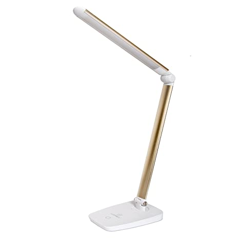 night table light crystal lamp shade lumiens greenwich led desk lamp adjustable dimmable task table light touch switch with amazoncom