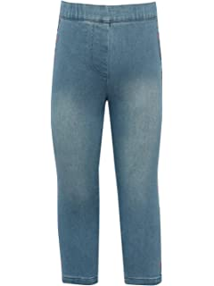 Minoti Girls Slim Fit Cotton Lilac Jeans