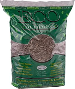 ECO BEDDING Highly Absorbent and Dust Free Bedding Material for Small Pets and Birds